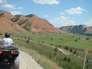 Jackson Hole Gros Ventre ATV Rides