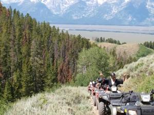 Jackson Hole Wyoming ATV Tour Shadow Mountain 2