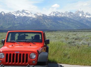 Jeep Wrangler Tetons