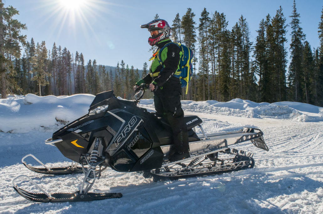 2018 Polaris 800 Pro 155 High Performace Snowmobile