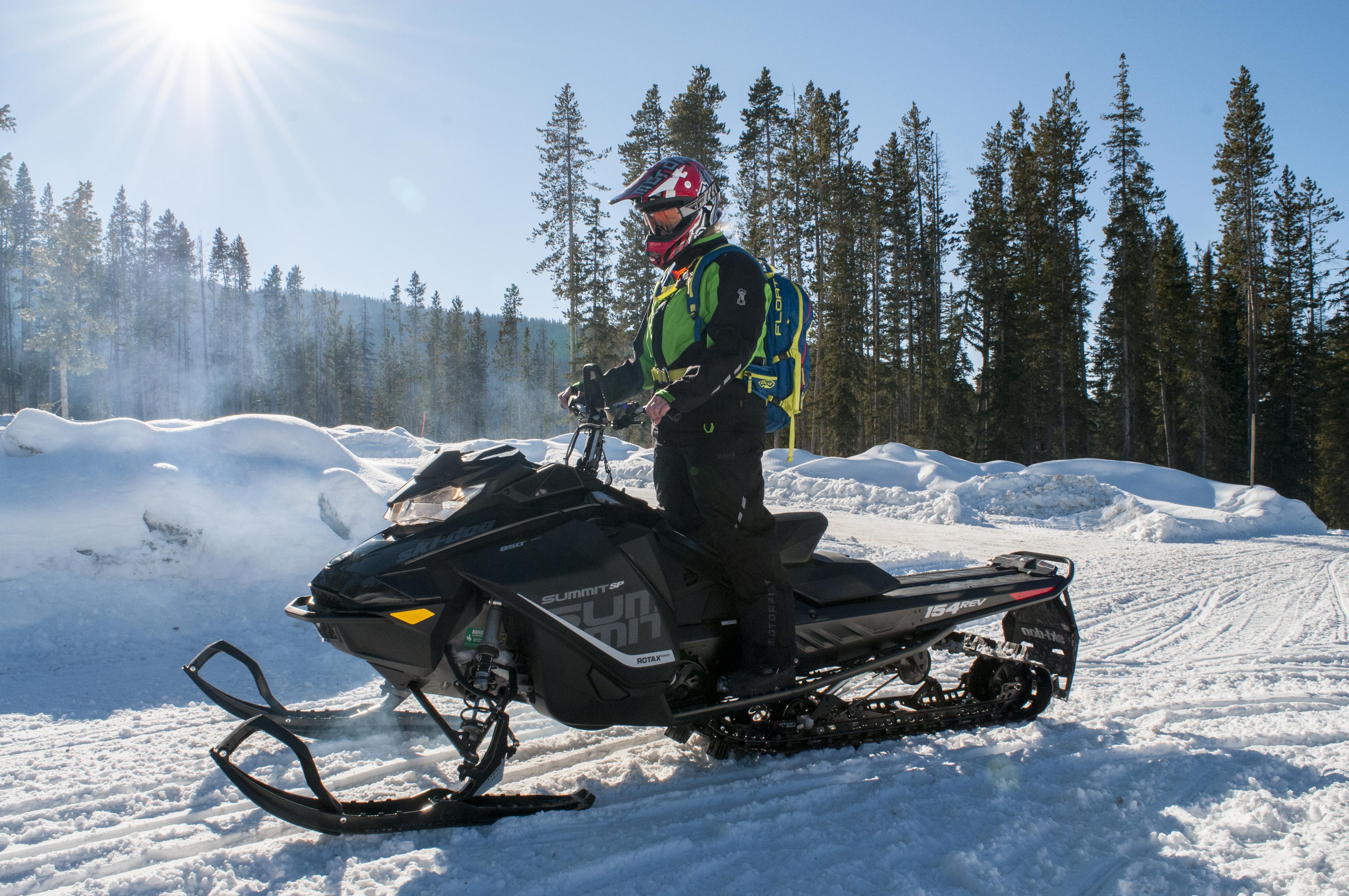 2018 Ski Doo 850 High Performace Snowmobile