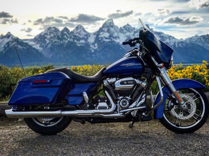 Harley Rentals Jackson Hole Wyoming