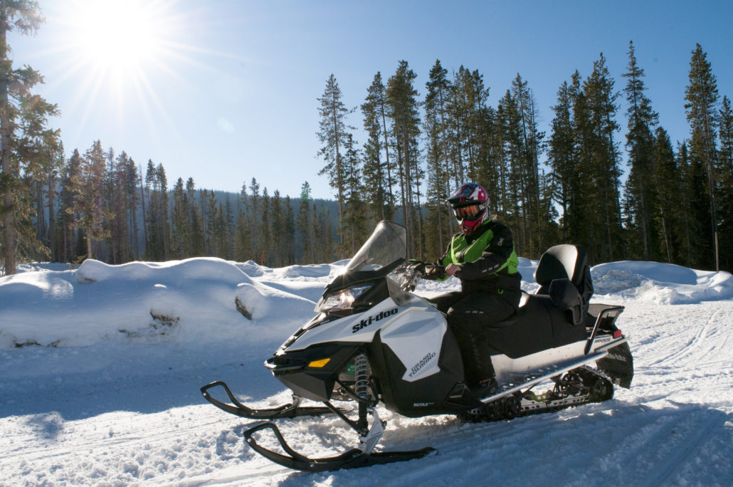 Self Guided Touring and Trail Sled Rental in Jackson Hole and Alpine Wyoming