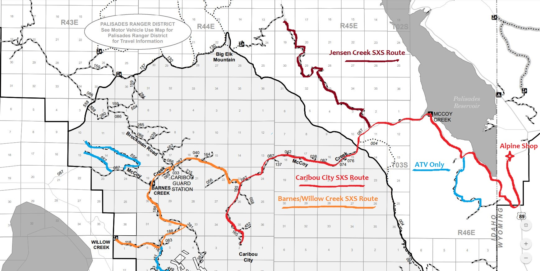 Atv Side By Sides Jackson Hole Adventure Rentals
